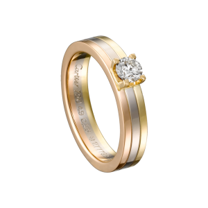 Rose, Yellow and White Gold