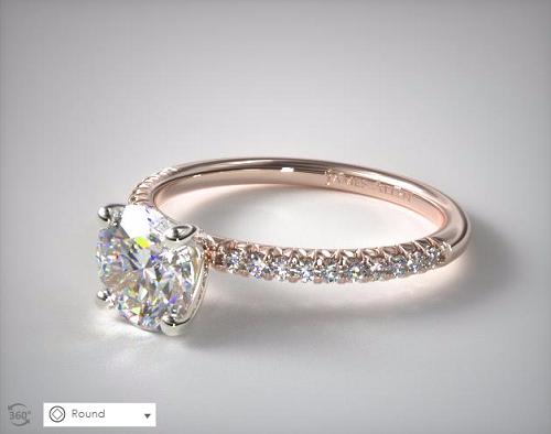 the best pav 233 side engagement rings