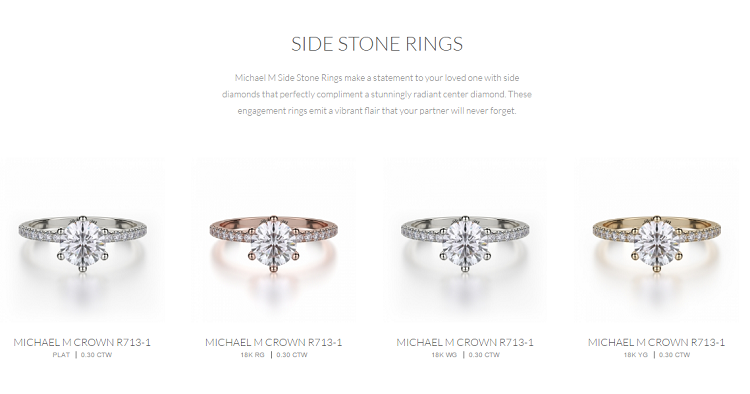 Sophisticated Designer Engagement Rings Michael M Review