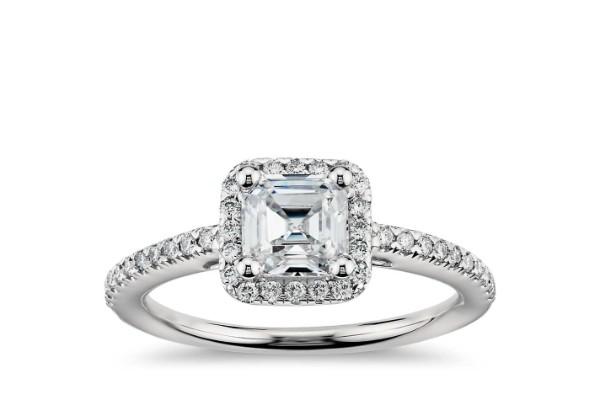 asschet cut diamond