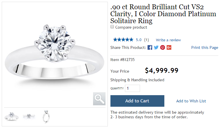 Costco Diamond