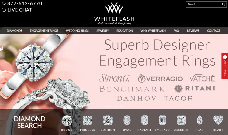 whiteflash-website