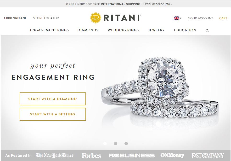 Ritani Homepage