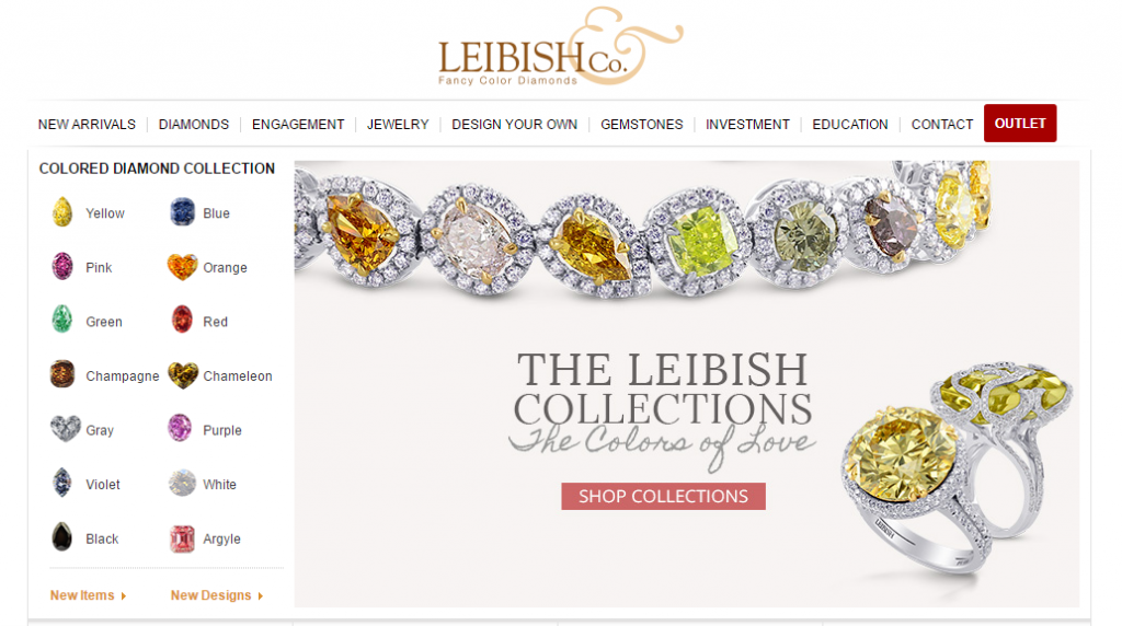 Leibish and Co Review Homepage