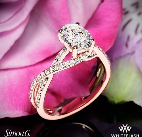 5b69d8aaa29c5 10 Beautiful Rose Gold Engagement Rings for 2018 | YDG