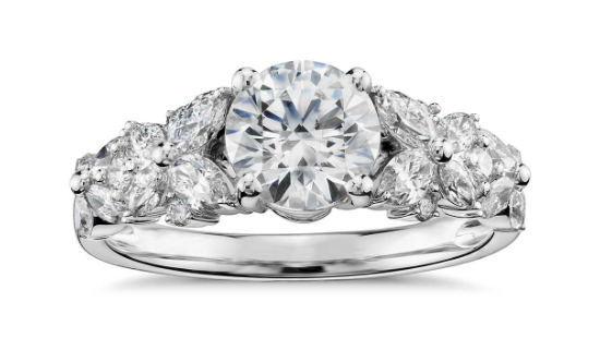 A Complete Guide To Wide Band Engagement Rings Your Diamond Guru