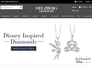 Helzberg-Homepage